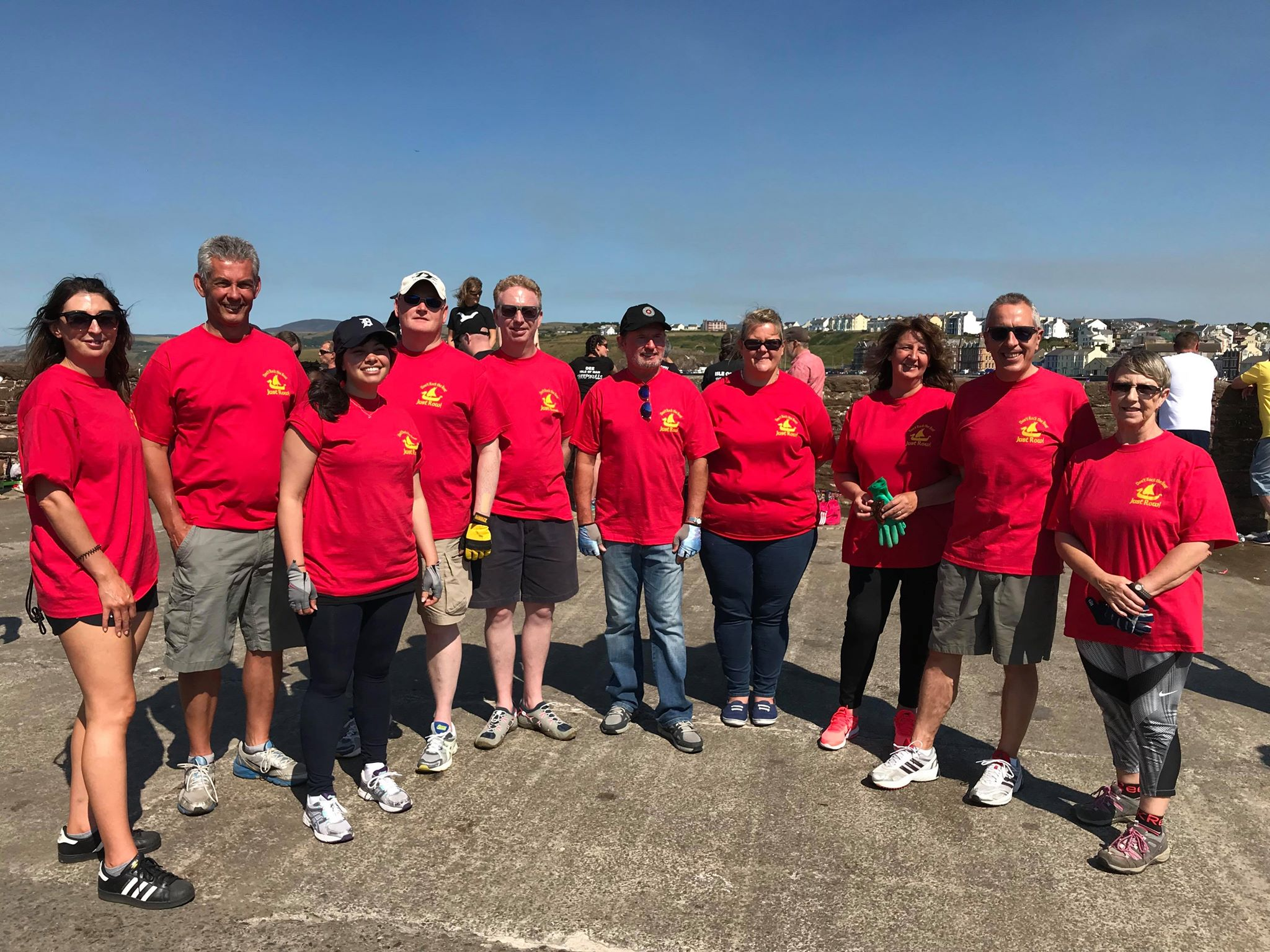Viking Longboat races 2018 - Team Tynwald
