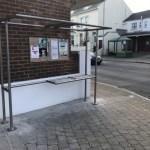 Mystery bus shelter
