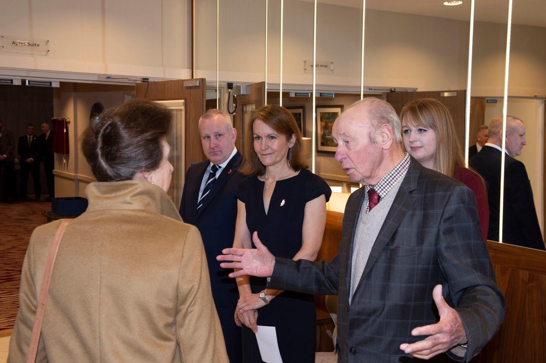 Princess Anne October 2019