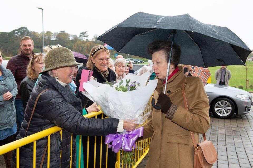 Princess Anne Visit October 2019